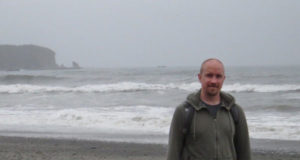 Tom Weber at Rialto Beach