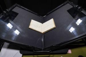 Preparing a manuscript for digitization