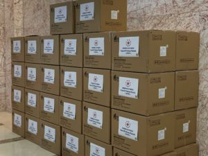 boxes of masks